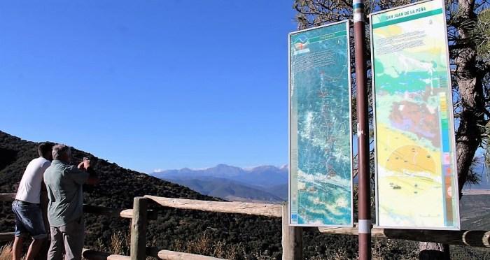 ESPACIOS NATURALES. Paisaje protegido de San Juan de la Peña. (FOTO: Rebeca Ruiz)
