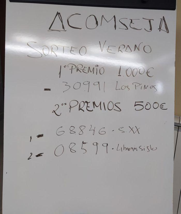 NÚMEROS GANADORES. Boletos entregados por Los Pinos, El Siglo y Siglo XX. (FOTO: Rebeca Ruiz)