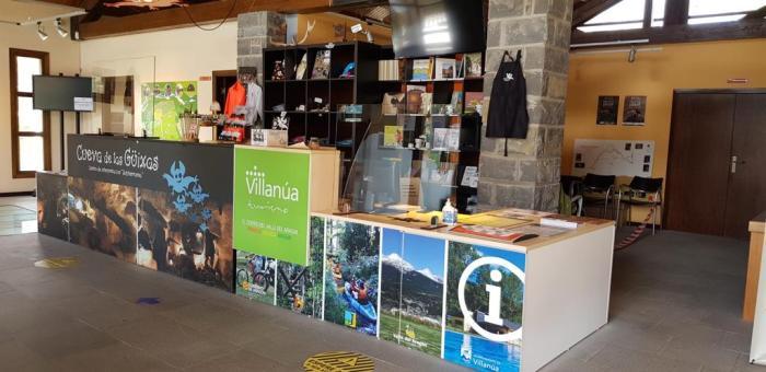 Oficina de Turismo de Villanúa. (FOTO: Comarca de la Jacetania)