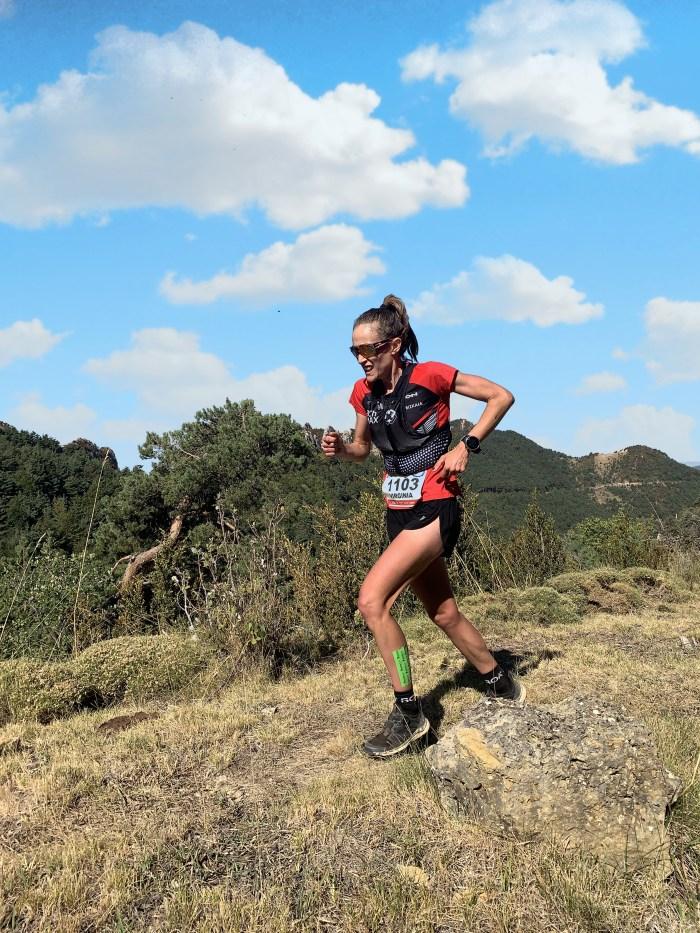 19K. Virginia Pérez Mesonero, campeona de Aragón de Trail.
