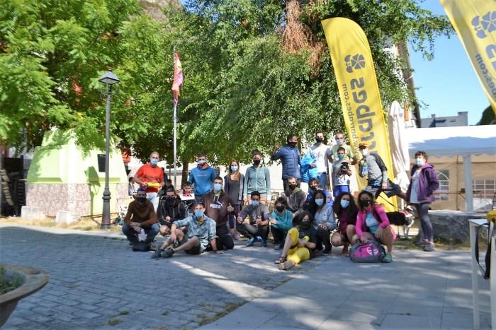 PARTICIPANTES. Éxito de la quinta maratón de escalada Barranco de los Meses en Canfranc.