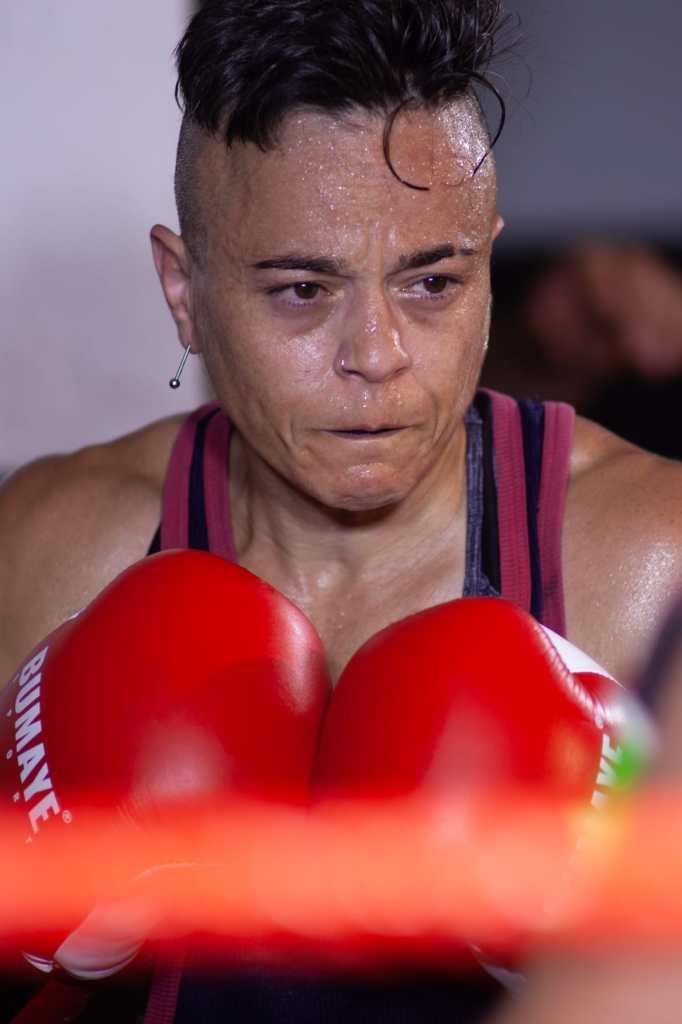 BOXEADORA. Vanesa Caruso. (FOTO: José Torres / Didadi Audiovisuales)