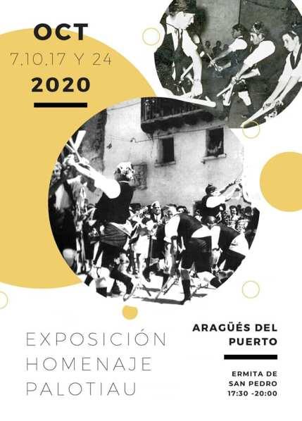 La exposición-homenaje al palotiau también se podrá visitar este domingo, 11 de octubre (días de apertura ampliados).