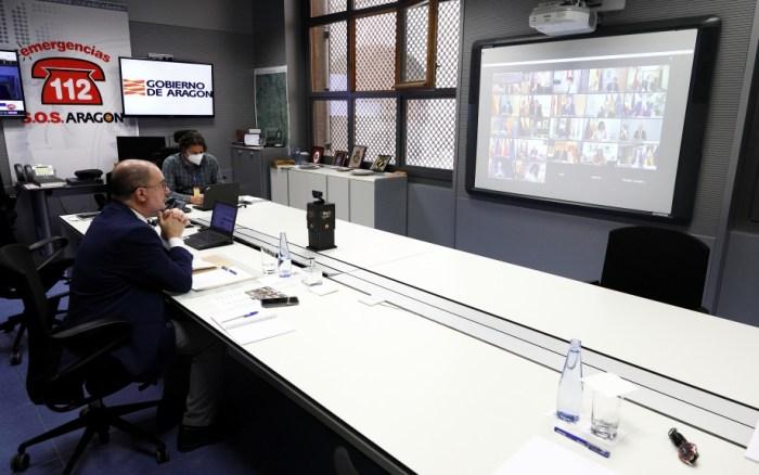 Aragón decreta el confinamiento territorial y el toque de queda entre las 23.00 y las 6.00 horas. (FOTO: Gobierno de Aragón/Luis Correas)