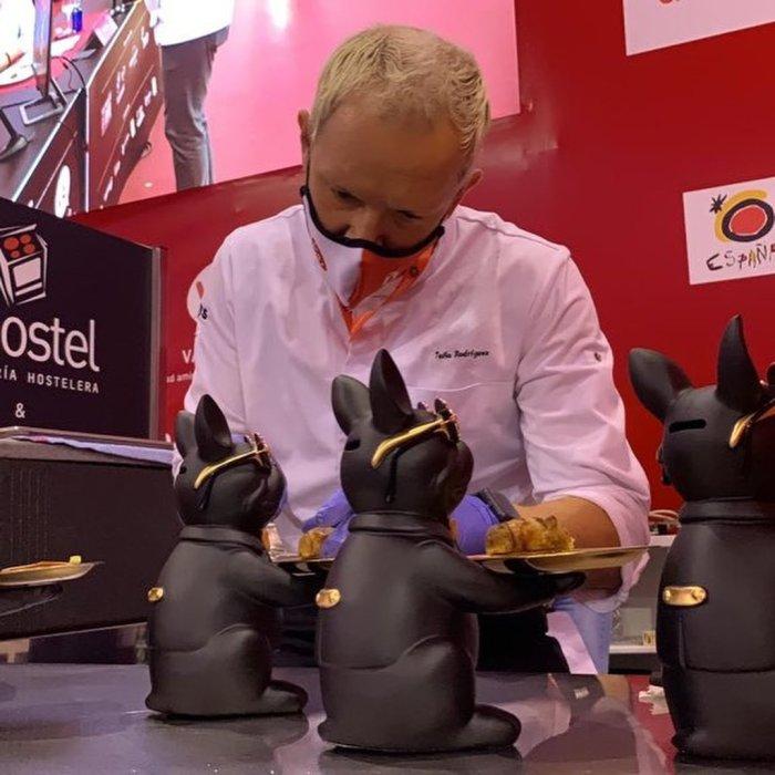 Rodríguez, trabajando en el concurso.