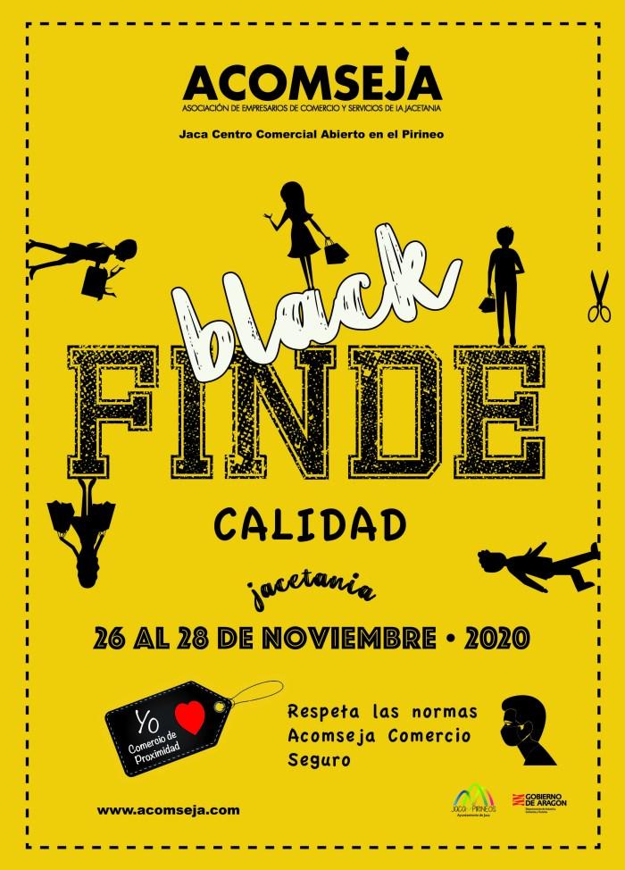 Jaca disfrutará de una nueva edición del Black Finde el próximo fin de semana. (FOTO: Rebeca Ruiz)