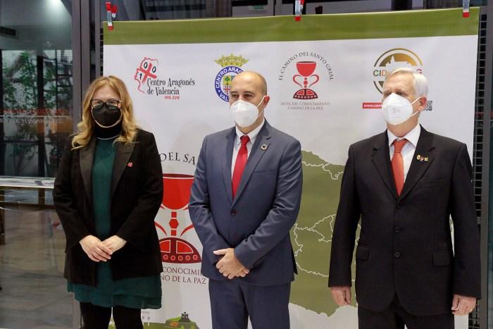 De izquierda a derecha, Ana Mafé, Francisco Gómez y Jesús Gimeno. (FOTO: Kike Taberner)