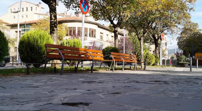Calles vacías en Jaca. (FOTO: Rebeca Ruiz)