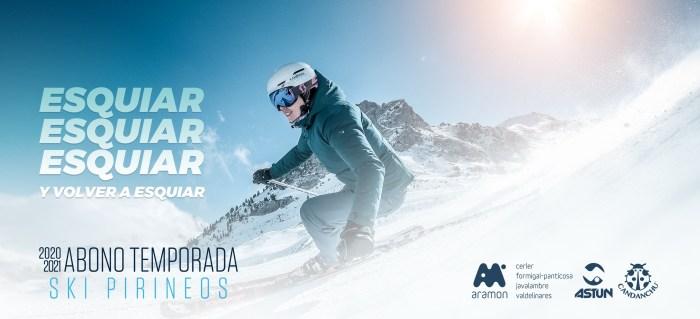 Ya disponible el abono Ski Pirineos, con ventajas para los habitantes de la Jacetania