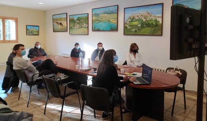 La Oficina de Desarrollo Local de la Jacetania apoyó la creación de 19 empleos en 2020. En la imagen, uno de los talleres de la ODE. (FOTO: Comarca de la Jacetania)