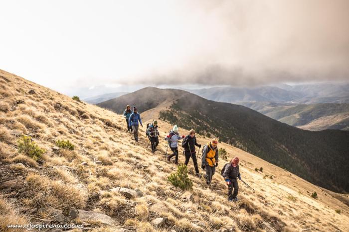 Salida del equipo de montaña de Valentia. (FOTO: Ojos Pirenaicos)