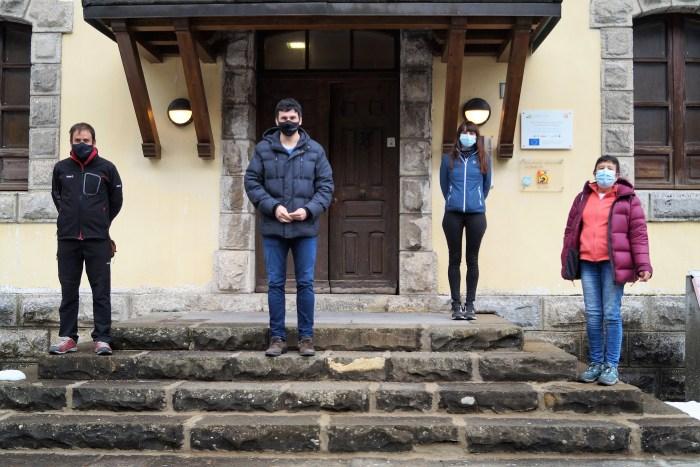 De izda. a dcha., Varela, Sánchez, Veintemilla y García. (FOTO: Rebeca Ruiz)