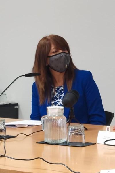 Berta Fernández, alcaldesa de Sabiñánigo, ha presentado la agenda cultural para despedir el 2020.