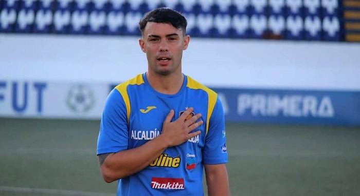 Pablo Gállego, con fuertes raíces en Jaca y Biescas, jugador internacional en Nicaragua.