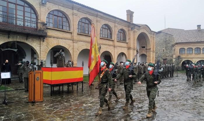 La Ciudadela de Jaca acoge el acto de despedida de los regimientos de Cazadores de Montaña. (FOTO: RICZM Galicia 64)