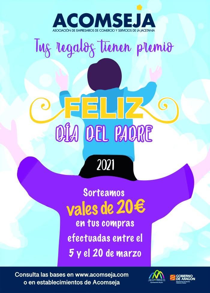 Acomseja sortea vales de 20 euros en su campaña del Día del Padre