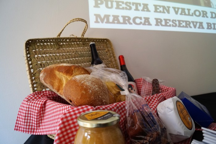 Productos de la marca Reserva de la Biosfera Ordesa-Viñamala. (FOTO: Rebeca Ruiz)