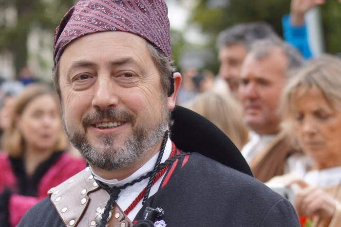 Carlos García, presidente de la Hermandad del Primer Viernes de Mayo. (FOTO: Rebeca Ruiz)