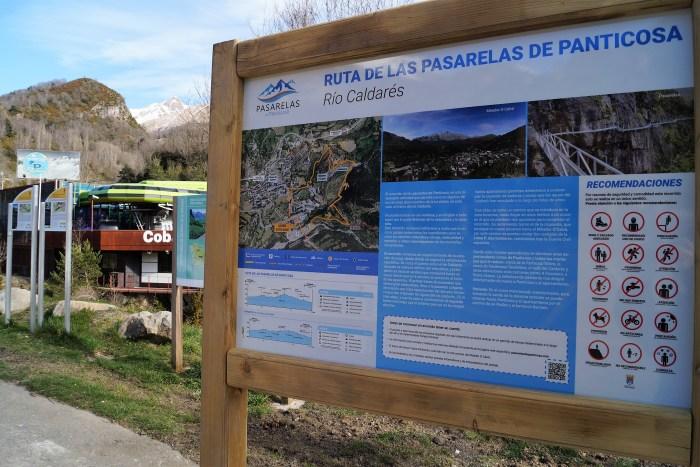 Ruta de las pasarelas de Panticosa. (FOTO: Rebeca Ruiz)