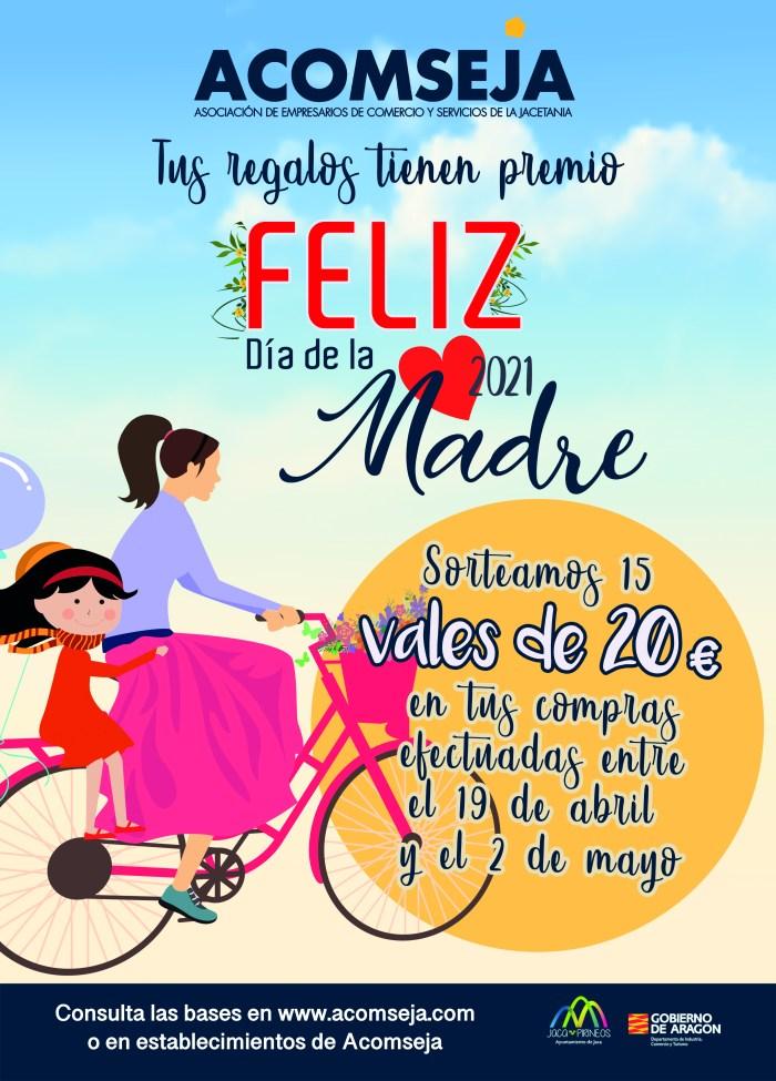Acomseja sortea vales de compra por valor de 300 euros en su campaña del Día de la Madre