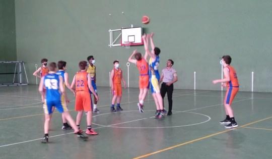 El Club Baloncesto Jaca jugaba este fin de semana con resultados desiguales de sus equipos.
