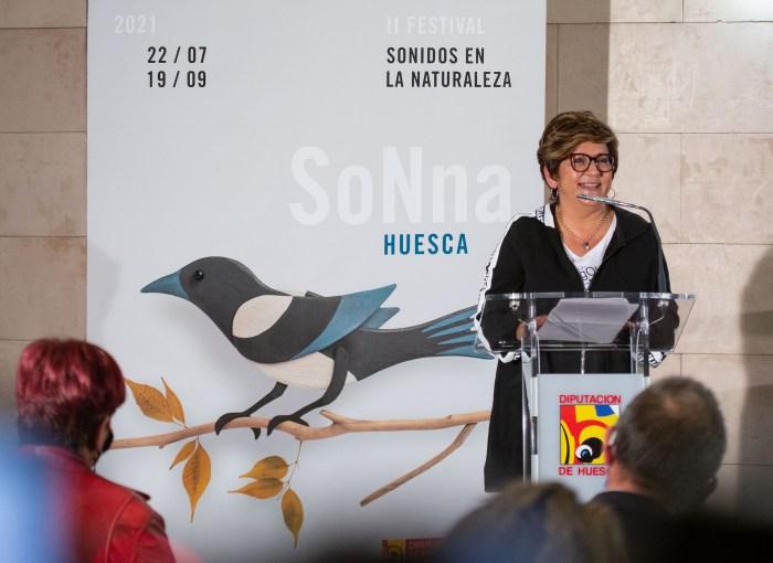 Rozalén, Amaral, Marlango y La fura dels Baus en el SoNna 2021, que rendirá homenaje a Pau Donés. Un momento de la presentación.