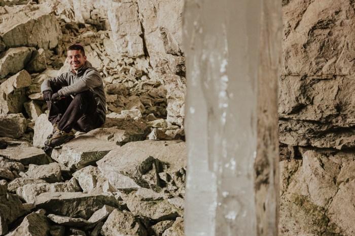 La gruta de Lecherines, el secreto escondido de una ciudad helada