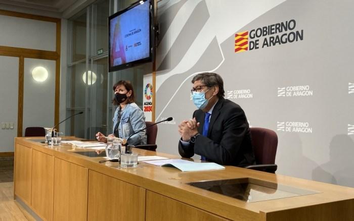 Siete rutas turísticas reivindican 600 años de historia de la Corona de Aragón. Un momento de la presentación del nuevo producto turístico del Gobierno de Aragón. (FOTO: Gobierno de Aragón)