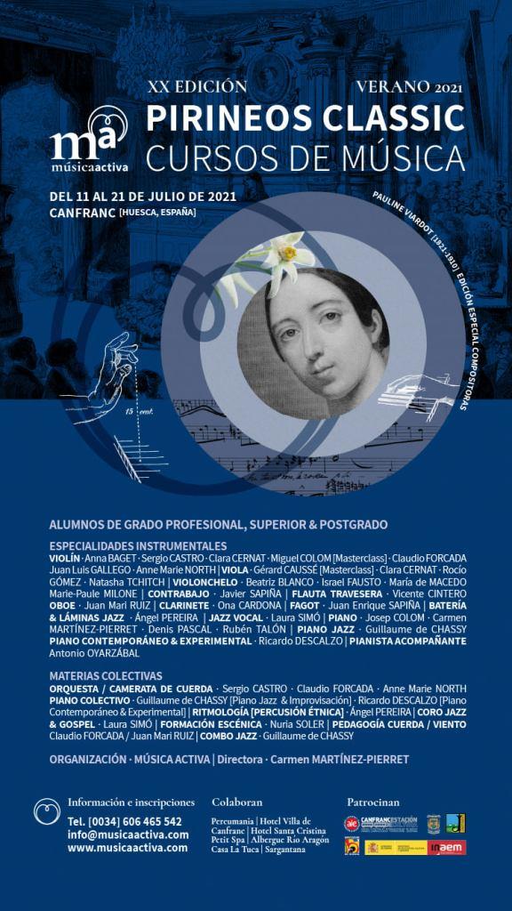 Los cursos Pirineos Junior & Classic de Canfranc reciben 150 inscripciones en un mes