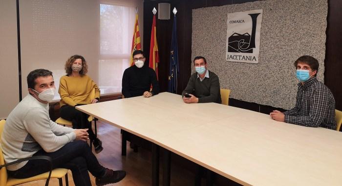 La implantación del compostaje comunitario de La Jacetania se ha mostrado a la Comarca del Bajo Aragón. (FOTO: Comarca de la Jacetania)