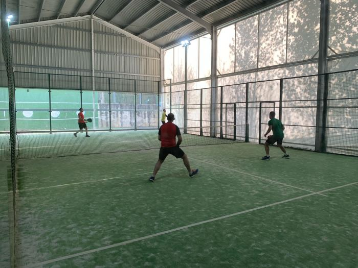 Finaliza la Liga Social PyreneSport Pádel Otoño-Invierno, con más de 40 parejas participantes. En la imagen, los Campeones Oro, Miguel Bahamonde y David Martín.