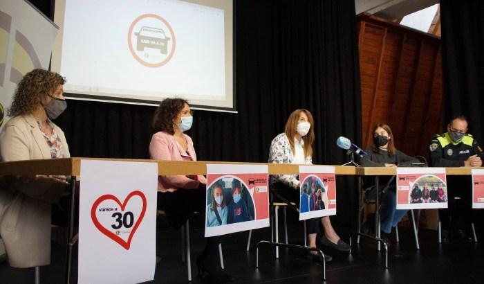 La nueva campaña del Consejo de Infancia de Sabiñánigo tiene como slogan Sabi va a 30. (FOTO: Rebeca Ruiz)
