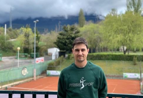 Juanma Puértolas, director de Pyrene Sport y de Pyrene Tennis Camp.