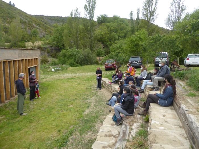 Fundación 3piedras, una alternativa a la despoblación del medio rural desde Ara. (FOTO: Chema Tapia)