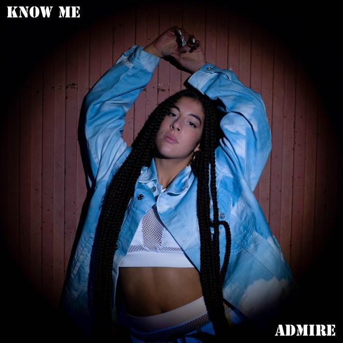 La cantante Admire elige la pista de hielo de Jaca como escenario para su nuevo trabajo, Fénix