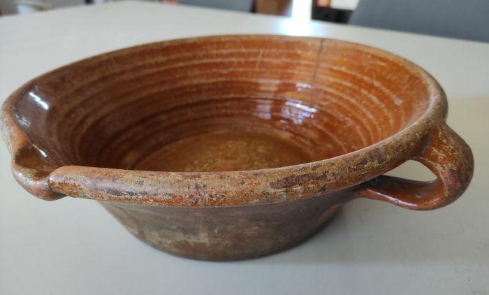 Una tortera, la última de las piezas incorporada a la colección.