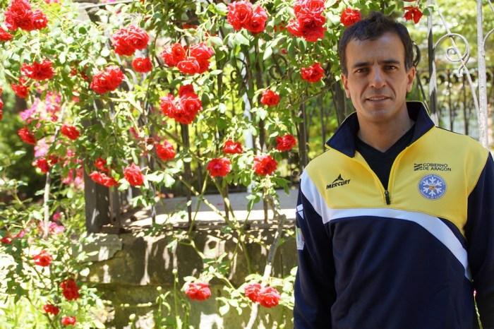 Carlos Lannes, nuevo director deportivo de la Federación Aragonesa de Deportes de Invierno. (FOTO: Rebeca Ruiz)