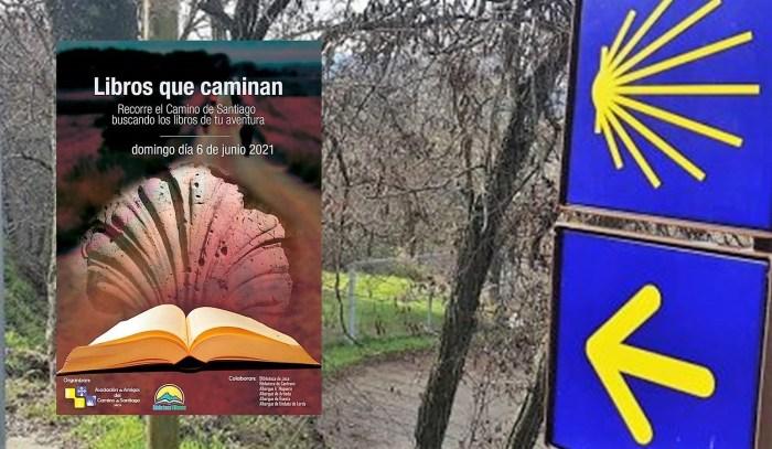 Los libros saldrán al Camino de Santiago tras el desconfinamiento de Jaca, el próximo 6 de junio.