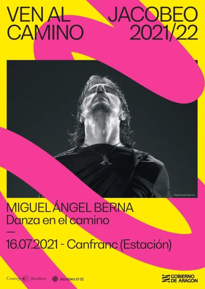 La danza de Miguel Ángel Berna abre la agenda del fin de semana en Canfranc