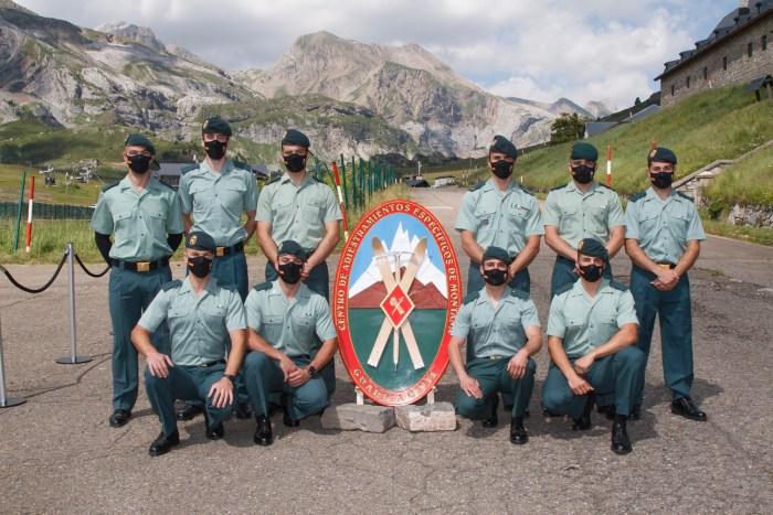 Clausura del XXXIII Curso de Montaña de la Guardia Civil