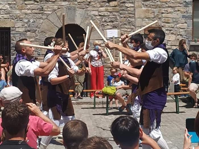 Animación y mucho público en Ansó y Aragüés con el PIR, que llegará el fin de semana a Jasa y Hecho