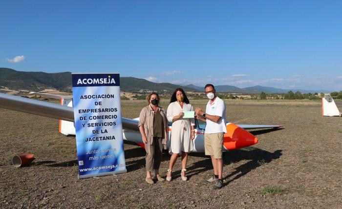 Nuria Romeo gana el concurso fotográfico Jaca desde el aire. (FOTO: Acomseja)