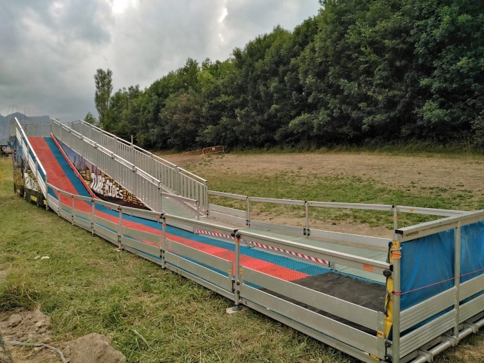 Panticosa amplía su oferta de ocio para este verano con un tobogán gigante
