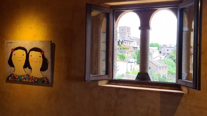 Eva Armisén, en Una Torre de Arte en Sinués, a partir del 1 de agosto.