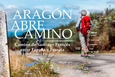 'Aragón abre camino' reivindica el Somport como puerta de entrada al Camino de Santiago