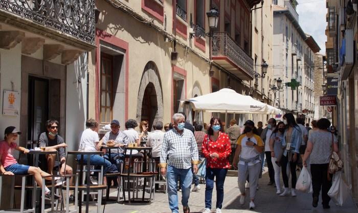"""Acomseja lamenta que se vuelva a """"castigar"""" a la hostelería por el aumento del COVID. (FOTO: Rebeca Ruiz)"""
