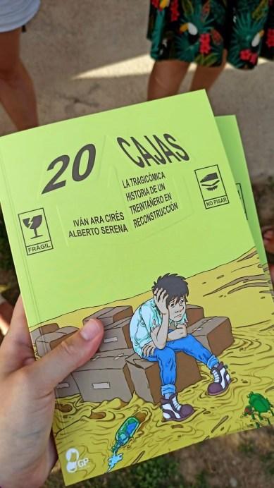 Larués acoge la puesta de largo del cómic sobre el treintañero de Iván Ara y Alberto Serena