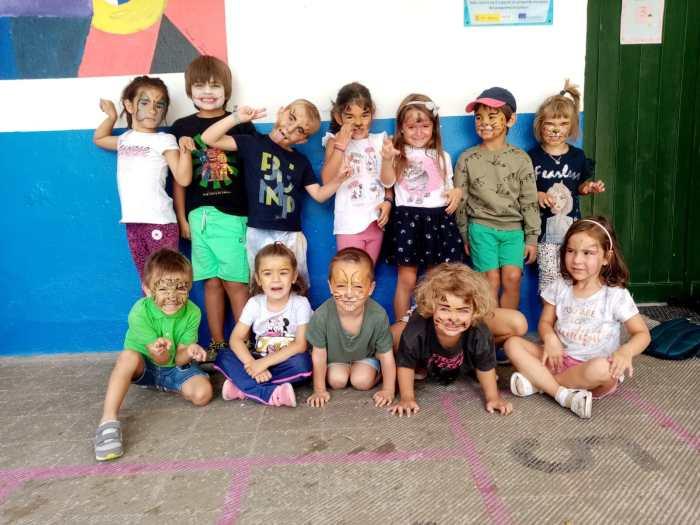 Cerca de 300 niños de 12 pueblos se despiden de las Escuelas de Verano de La Jacetania