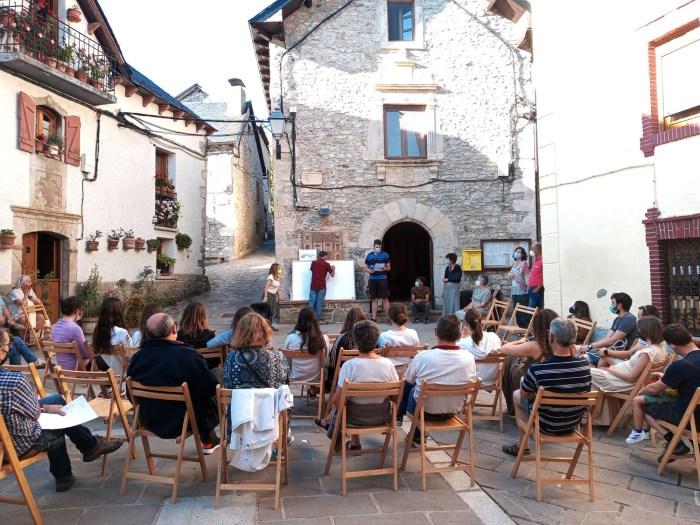 Hoz de Jaca estrena el programa 'Empenta tu pueblo' contra la despoblación en el Alto Gállego. (FOTO: Comarca Alto Gállego)