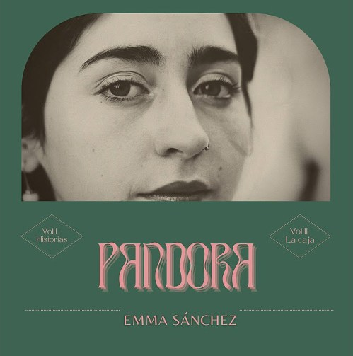 Portada de Pandora, primer álbum de Emma Sánchez.